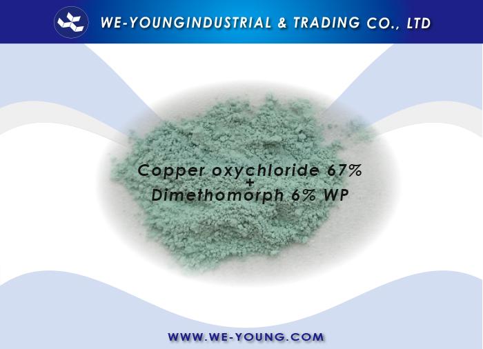 Copper oxychloride+Dimethomorph
